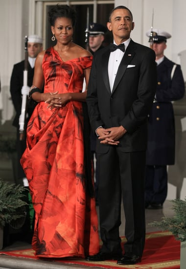 Oscar de la Renta Criticizes Michelle Obama for Wearing Alexander McQueen to State Dinner