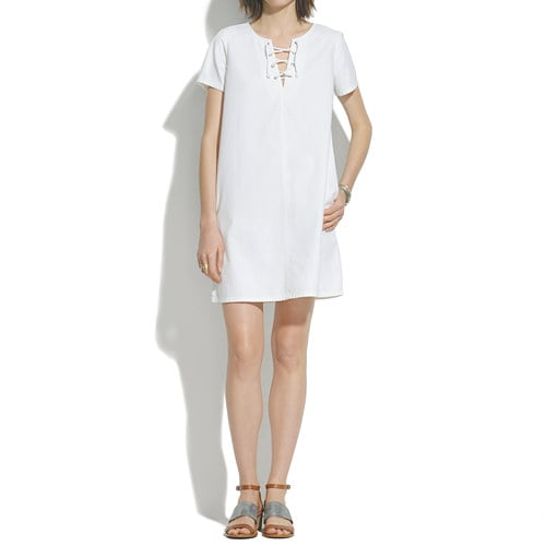 Madewell Lace-Up Dress