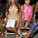 Beyoncé and her sister, Solange, stuck together.