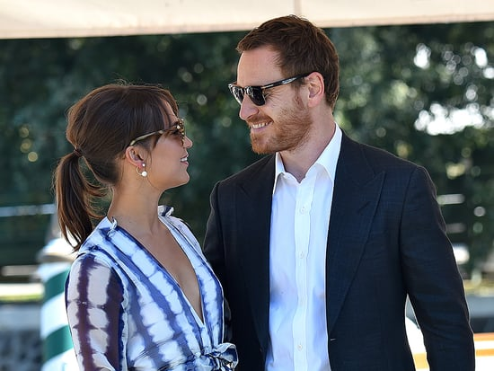 Sweet Couple Michael Fassbender and Alicia Vikander Are All Smiles at the Venice Film Festival