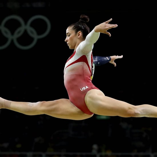Aly Raisman Gymnastics Balance Beam   Video