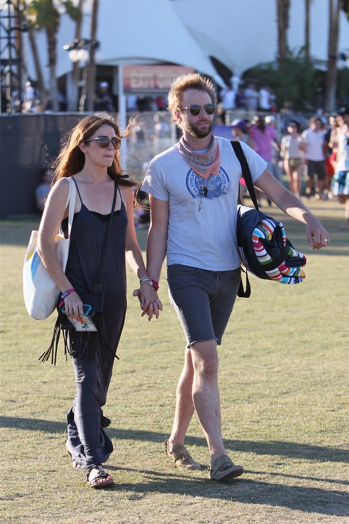 Coachella 2012 Weekend Two Celebrity Pictures