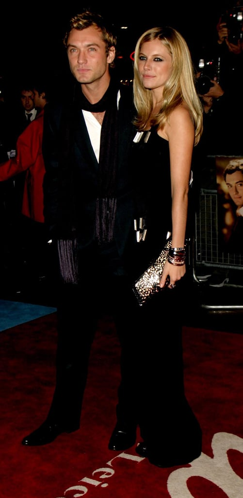 Sienna and Jude Law made a coordinated couple at the world premiere of Alfie in 2004.