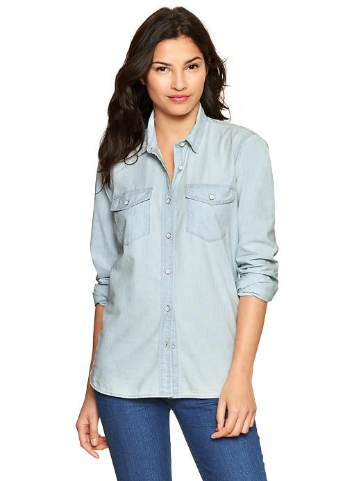 The Chambray Button-Down