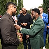 Usher and Kevin Hart at the 2020 Roc Nation Brunch in LA