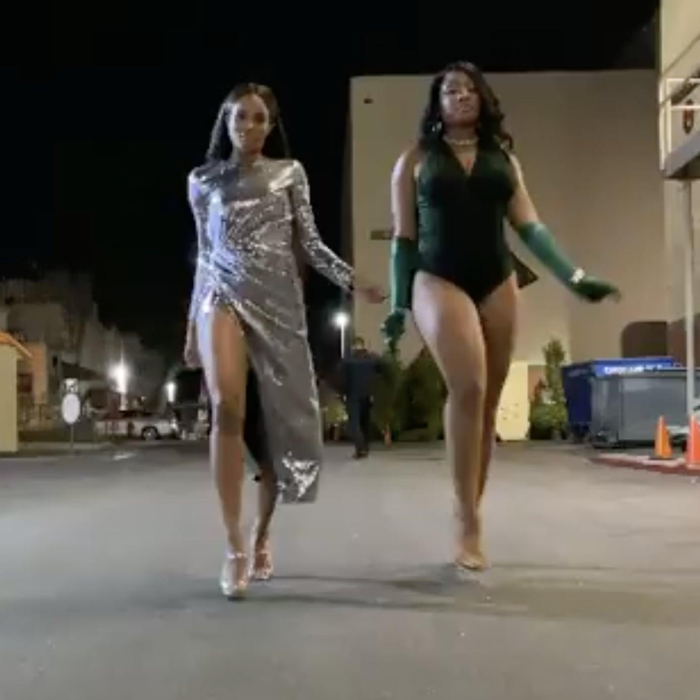 Ciara And Megan Thee Stallion Twerk To Melanin Video Popsugar Celebrity