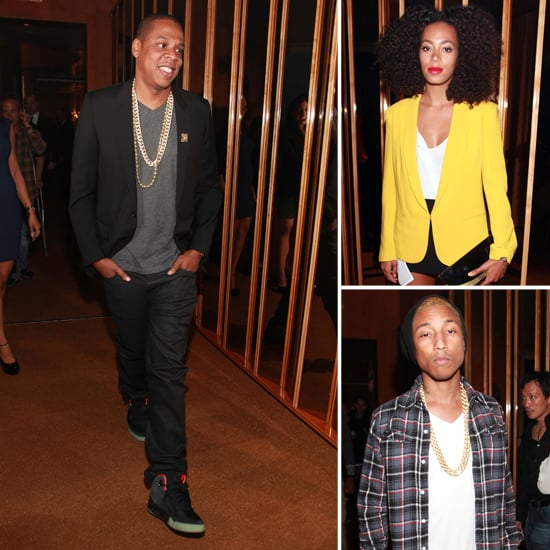 Jay-Z Pictures at D'Usse Launch in NYC