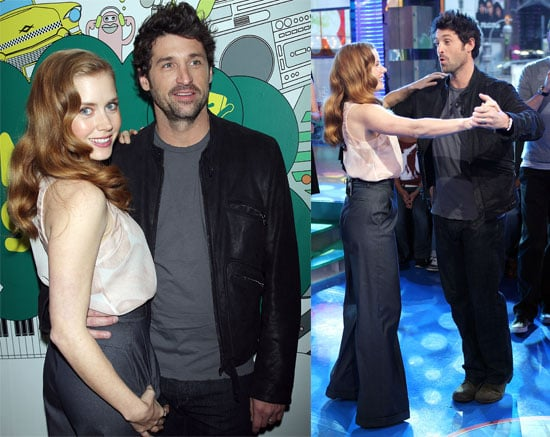 Patrick Dempsey And Amy Adams On Trl And At The Nyc Premiere Of