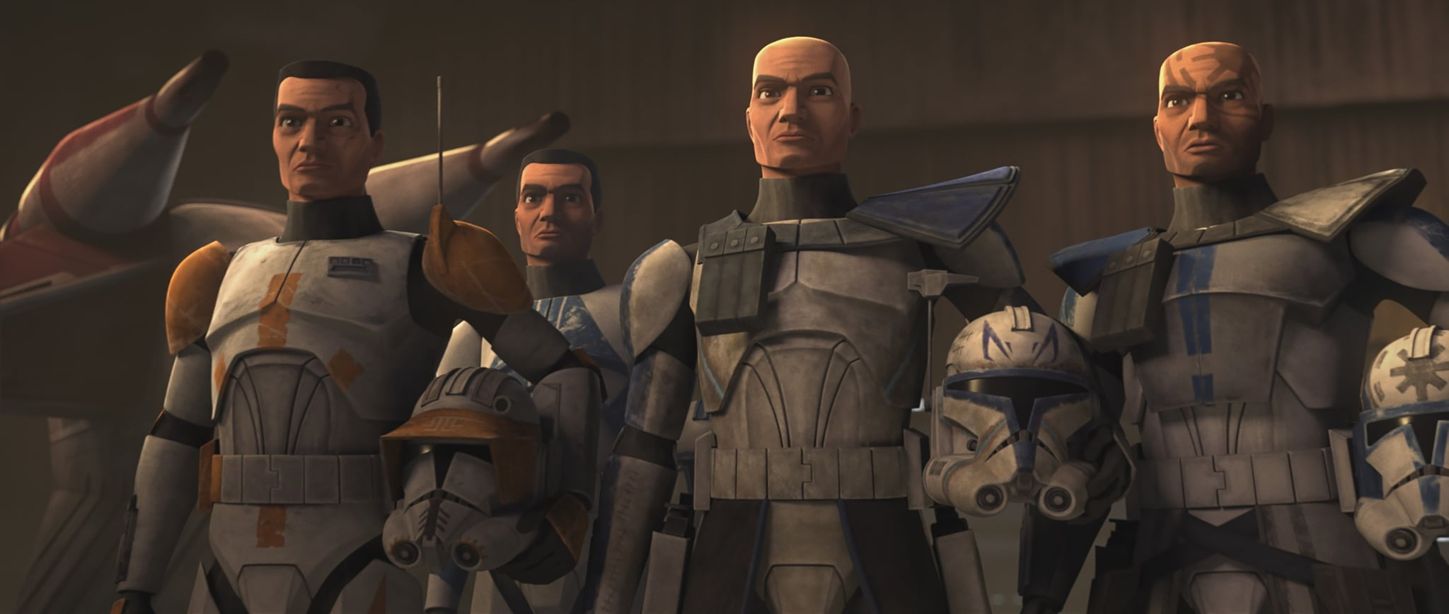 STAR WARS: THE CLONE WARS, Captain Res and the clones, The Bad Batch, (Season 7, ep. 701, aired Feb. 21, 2020). photo: Disney+ / Courtesy Everett Collection