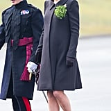 Kate at a St. Patrick's Day Parade in 2015
