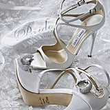 The Bride's Jimmy Choo Heels Had Her Initials Engraved on the Soles