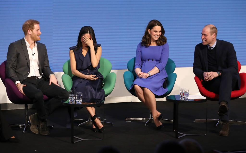 Kate Middleton and Meghan Markle at Royal Foundation Forum