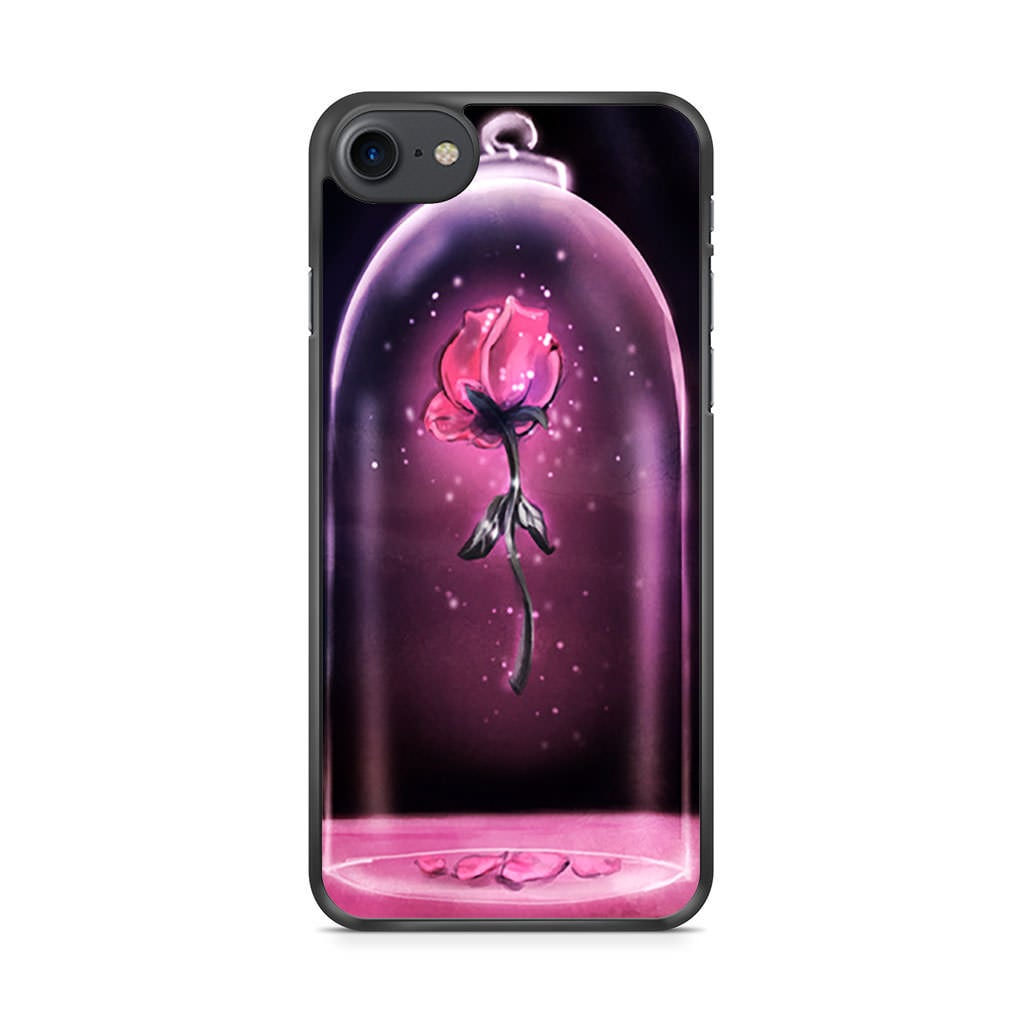 """<product href=""""https://www.casepersona.com/products/rose-beauty-and-the-beast-iphone-7-case-a07hab0434"""">Rose in Glass</product> ($14)"""