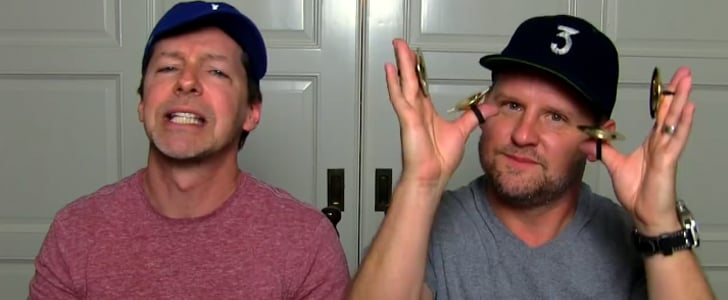 Sean Hayes and His Husband Bring Out Mini Props For Another Hilarious Lip Sync