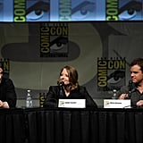 Sharlto Copley, Jodie Foster, and Matt Damon did Comic-Con.