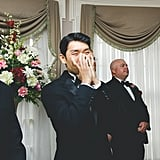 The Groom's Tearful Reaction to Seeing His Bride Is the Absolute Sweetest