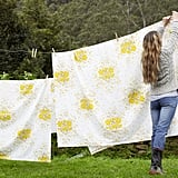 Dry your clothes on a clothesline.