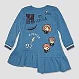 Toddler Harry Potter Leviosa Patches Dress