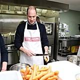 Prince William's Cookbook Joke During The Passage Visit 2019