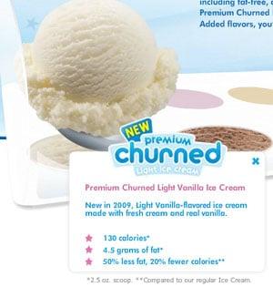 Baskin-Robbins New Lighter Line of Ice Cream