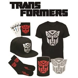 Transformers Showbag ($25) Includes:  Transformers can cooler  Transformers t-shirt  Transformers sticker