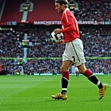 David Beckham Honors His Best Man by Hitting the Field With Manchester United Again