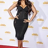 Tyra Banks vamped it up on the red carpet.