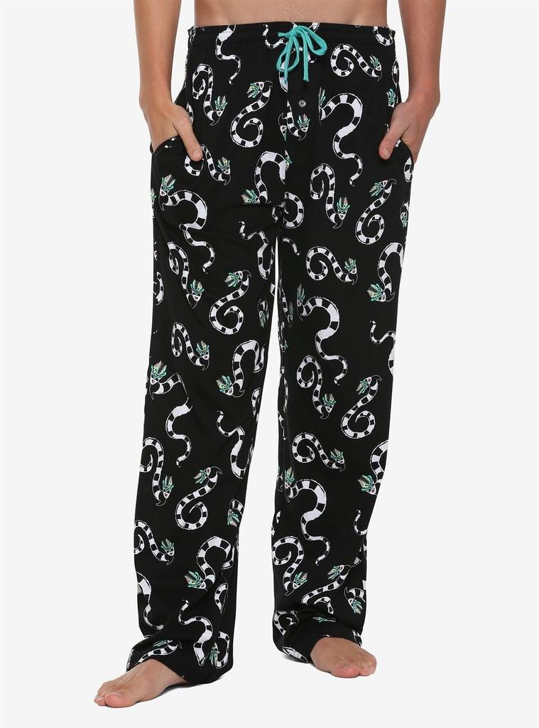 Beetlejuice Sandworm Print Pajamas