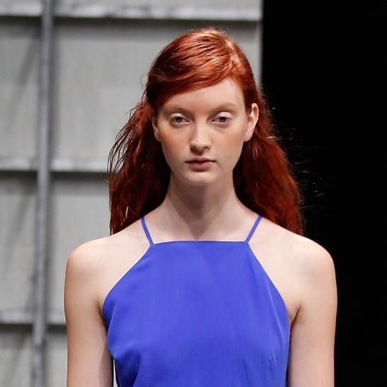 Band of Outsiders Spring 2014 Hair Makeup | Runway Pictures