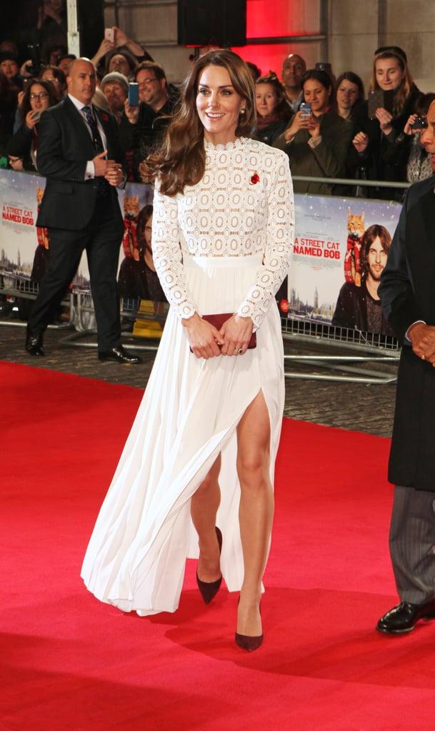 Kate Middleton's White Dresses