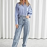 & Other Stories Cropped Mid Rise Jeans