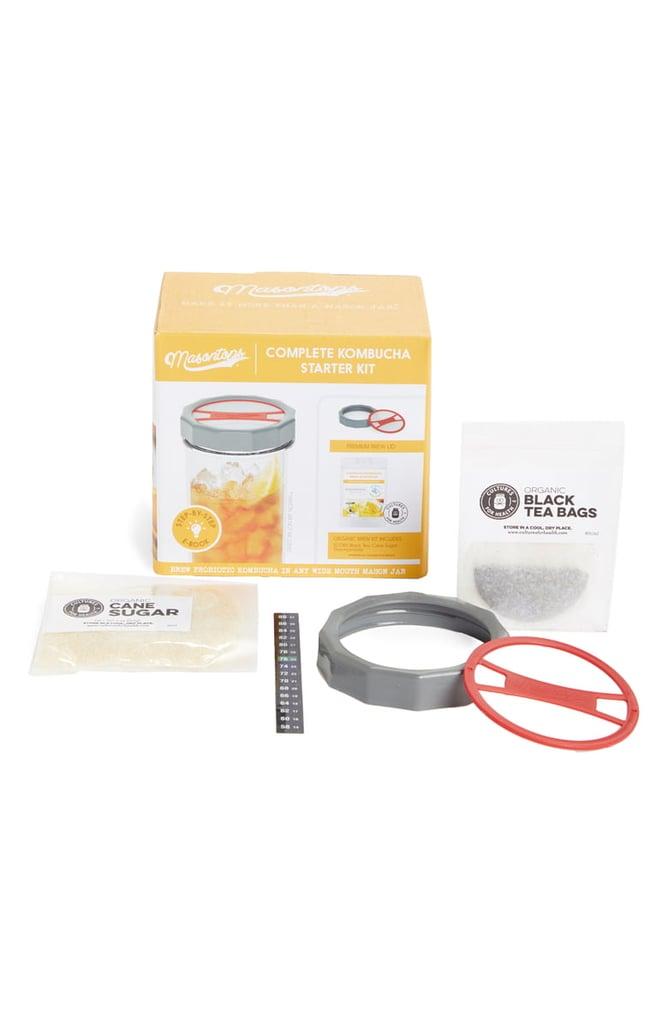 Masontops Brew Your Own Kombucha Starter Kit