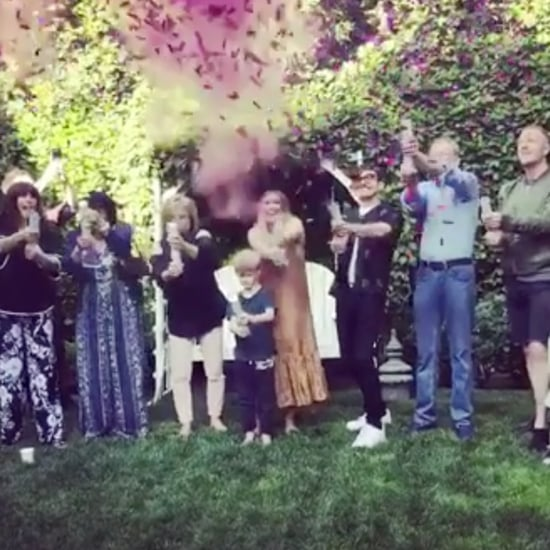 Hilary Duff Gender Reveal Video 2018