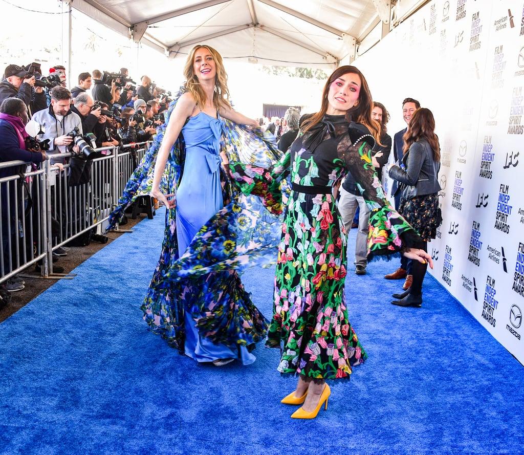 Dawn Luebbe and Jocelyn Deboer at the 2020 Spirit Awards