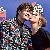 Brett Dier and Haley Lu Richardson at the 2019 MTV Movie and TV Awards