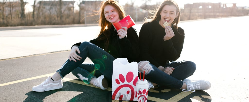 These Best Friends Had a Chick-fil-A Photo Shoot, and We're Getting Hungry