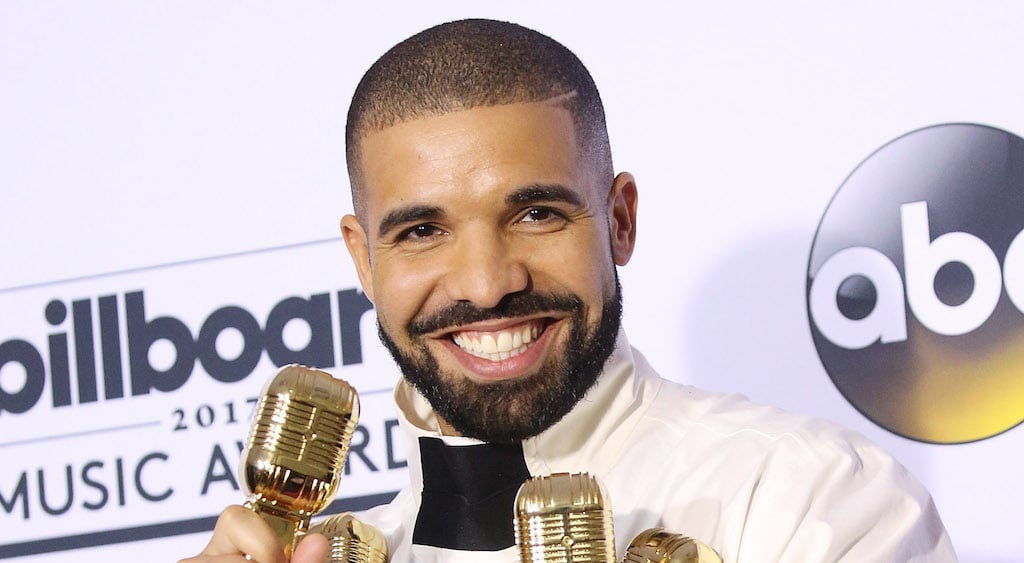 LAS VEGAS, NV - MAY 21:  Aubrey Drake Graham aka Drake attends the 2017 Billboard Music Awards - Press Room held at T-Mobile Arena on May 21, 2017 in Las Vegas, Nevada.  (Photo by Michael Tran/FilmMagic)