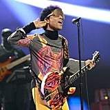 Prince performed alongside Mary J. Blige during the 2012 iHeartRadio Music Festival in Las Vegas.