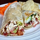 Chicken Bacon Avocado Wrap