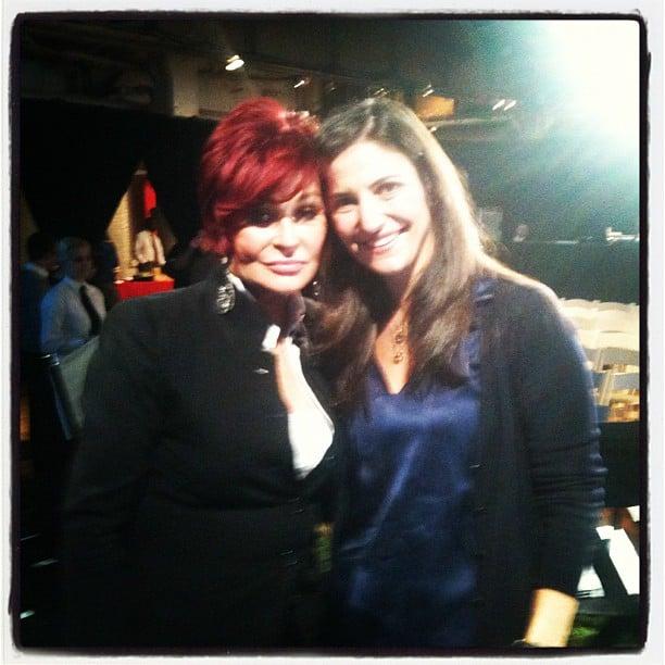 Meeting Sharon Osbourne