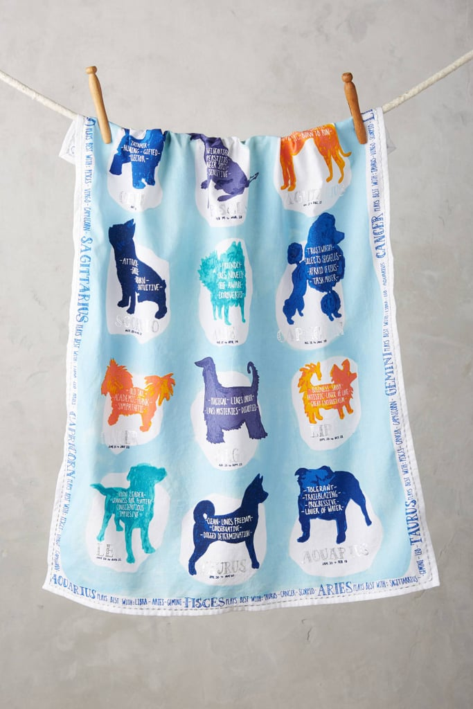 Anthropologie Zodiac Companion Tea Towel ($18)