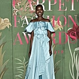 Adut Akech at The Green Carpet Fashion Awards 2019