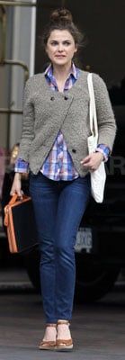 Keri Russell Style in Vancouver