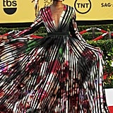 Lupita Nyong'o Dress Spins on the Red Carpet