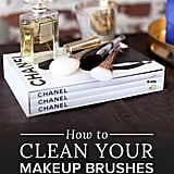 Makeup-Brush-Cleaning Tips