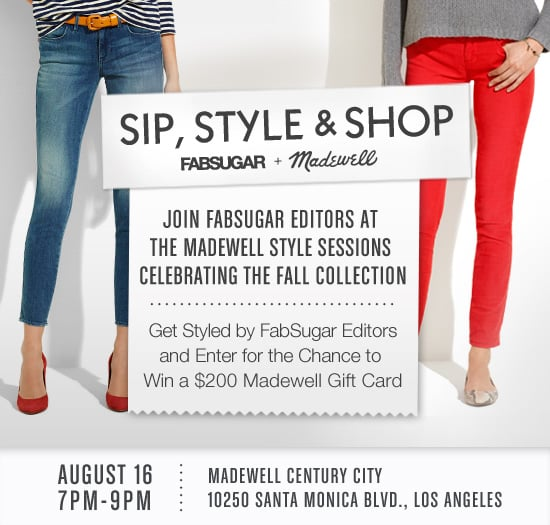 You're Invited to Sip, Style, and Shop at Madewell