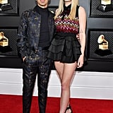Sophie Turner and Joe Jonas at the 2020 Grammys
