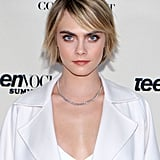 Cara Delevingne's Threads of Golden Highlights, 2018
