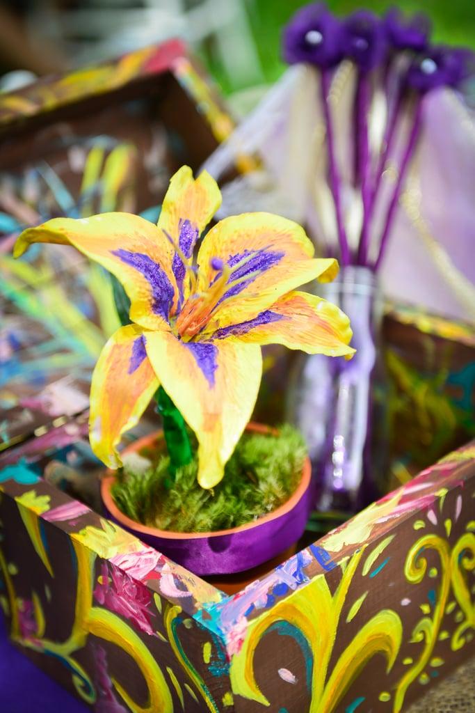 Golden Flower | Rapunzel Tangled Birthday Party Ideas ...
