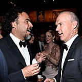 Alejandro González Iñárritu and Michael Keaton